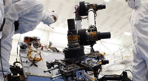 Robots On Mars Curiosity