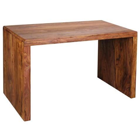 table de bureau simple en bois h76 x l120 x p60 cm