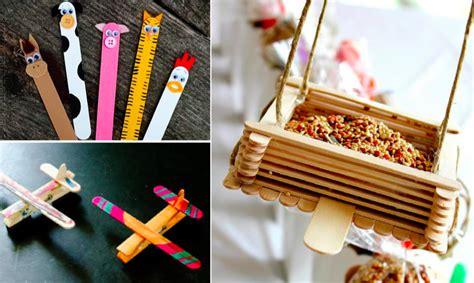 bureau d activité 35 idées de bricolages avec des bâtonnets d 39 esquimaux
