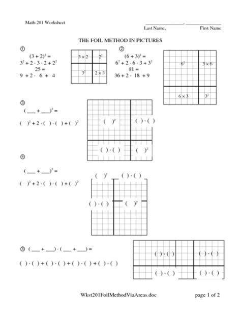 Area Model Multiplication Worksheets  Multiplication Worksheetsarea Models With Bicycles