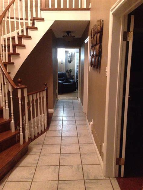 Tiling idea for my narrow hallway.