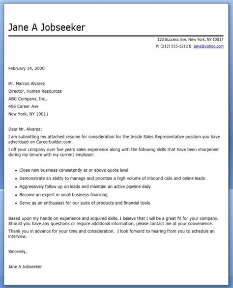 cover letter examples  sales rep resume downloads