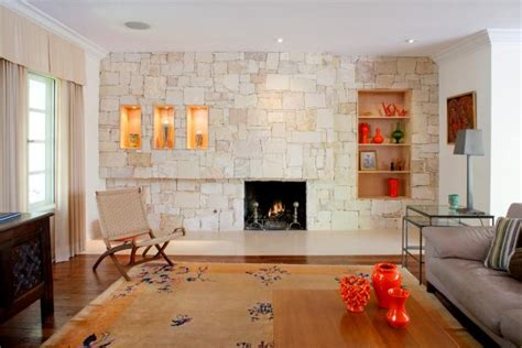 Living Room Accent Wall Fireplace by Photo Page Hgtv