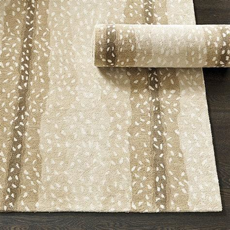 beige antelope hand tufted rug