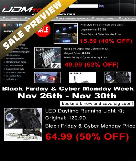 thanksgiving black friday cyber monday led lights