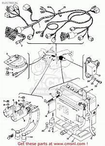 Yamaha Tx750 1973  1974 Electrical