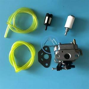 Carburetor  U0026 Fuel Line For Craftsman 30cc 4