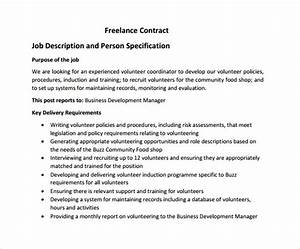 freelance contract template 9 free samples examples With freelance employment contract template