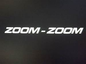 zoom zoom letters vehicle window decal sticker 4 x With window decal letters