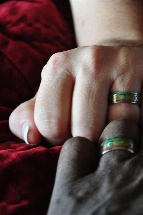 rasta titanium rings one engagement titanium rings and wedding