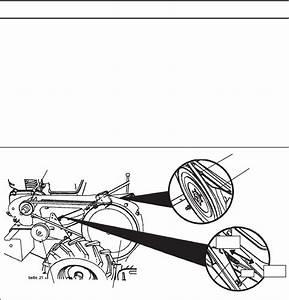 Husqvarna Drt900 To Replace Ground Drive Belt  See Figs