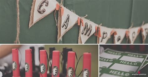 Outdoor Camping Themed Birthday Party  Ee  Ideas Ee   Inspi Ion
