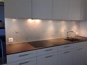 Wandbilder Küche Glas : proverit glas glas in der k che ~ Whattoseeinmadrid.com Haus und Dekorationen