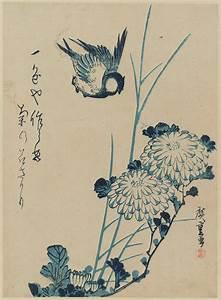 Utagawa Hiroshige: Bird and Chrysanthemums - Museum of ...