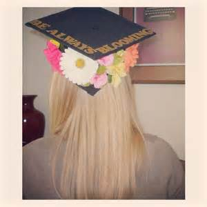 Flowers Graduation Cap Decorations