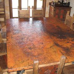 copper top dining table care copper top dining room table http www diynetwork com