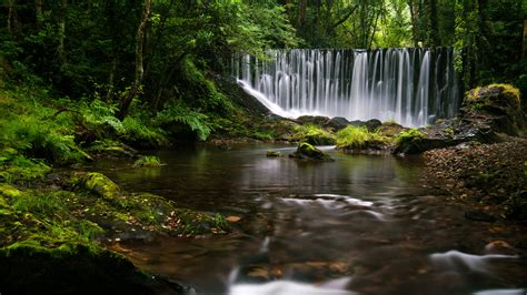 Galician Waterfall 4k, Hd Nature, 4k Wallpapers, Images