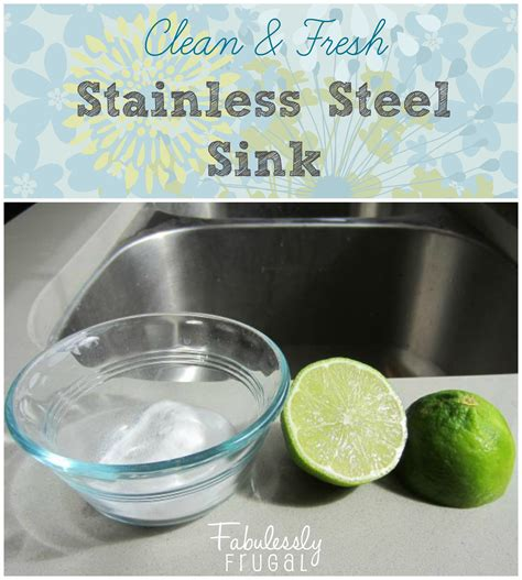 stainless steel kitchen sink cleaner how to clean your stainless steel sink 8263