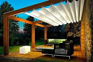 Pergola Mit Sonnensegel : sonnensegel f r terrasse einige attraktive vorschl ge ~ Avissmed.com Haus und Dekorationen