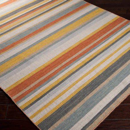 yellow striped rug surya calvin golden yellow white striped area rug