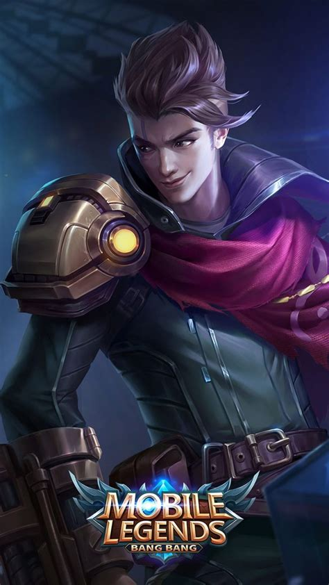claude mobile legends  gambar animasi gambar