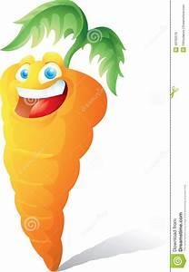 Smiling Carrot Cartoon Stock Vector - Image: 43162519