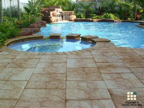 pool pictures with pavers pool pavers photo gallery artistic paver mfg