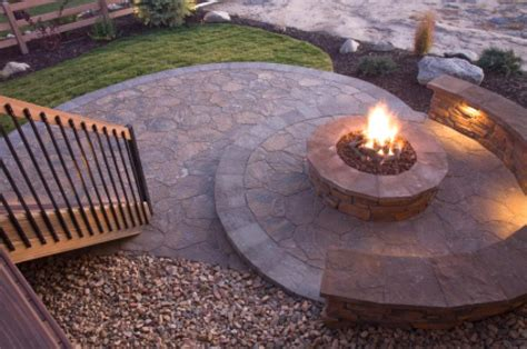 Beautiful Deck Designs With Fire Pit