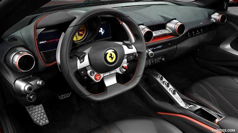 2018 Ferrari 812 Superfast Interior Wallpaper 6