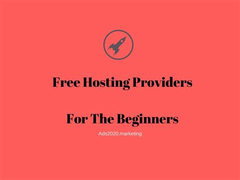 Free Best Hosting Top 9 Hosting Companies Where You Can Host Your Website