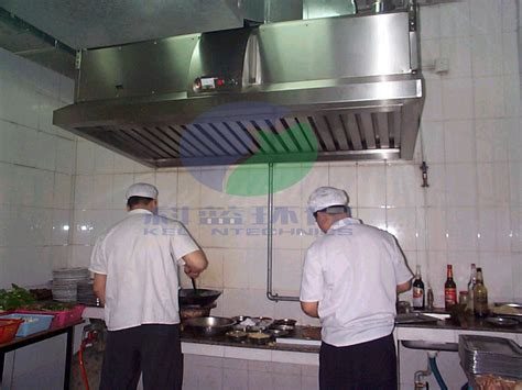 extraction cuisine restaurant china kitchen fume extractor with electrostatic