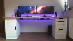 Pc Halterung Ikea : mein kabel management am schreibtisch youtube ~ Eleganceandgraceweddings.com Haus und Dekorationen