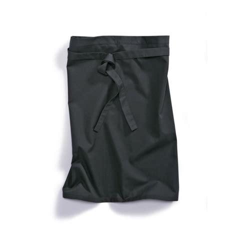 vetement de cuisine professionnel tablier cuisine 1780 400 32 bp noir vêtement professionnel