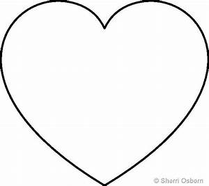 a heart template image collections template design ideas With small heart template to print