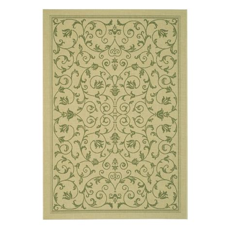 Lowes Canada Patio Rugs by Safavieh Cy2098 1e01 Courtyard Indoor Outdoor Area Rug