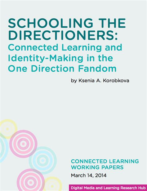 directioners direction learning schooling connected identity fandom making