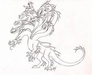 The Legendary Hydra by WyvernFlames on DeviantArt