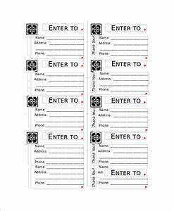 sample raffle ticket 12 documents in pdf word With sample of raffle tickets templates