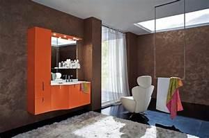 Salle De Bain Orange : une salle de bains moderne de cerasa qui va vous faire craquer ~ Preciouscoupons.com Idées de Décoration