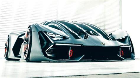 lamborghini reveals  terzo millennio concept autobuzzmy