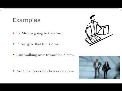 Pronouns  Part 1  Personal Pronouns And Pronoun Case Youtube