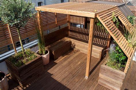 garden landscape design  roof terraces balconies
