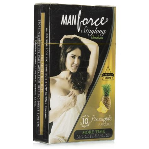 buy manforce pineapple staylong condoms 10 pcs online