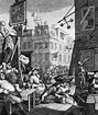 Hogarth Prints on Canvas or Paper, UK - Gin Lane, etc