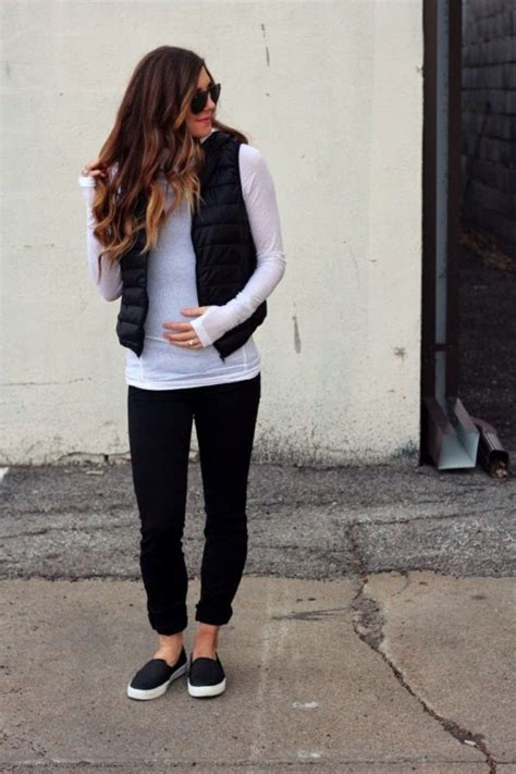 45 Cozy Puffy Vest Outfits Ideas To Copy Style Casual