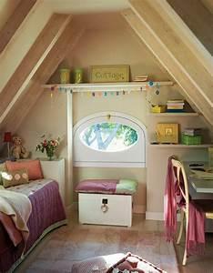 Kinderzimmer Streichen Dachschräge : modernes einrichten dachgeschoss kinderzimmer mit dachschr ge dachgeschoss dachboden ~ Markanthonyermac.com Haus und Dekorationen