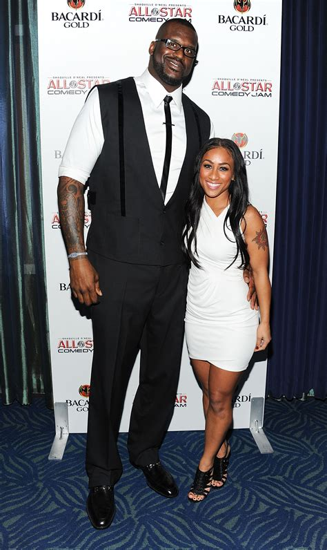 Shaquille Oneal And Nicole Alexander Height Difference