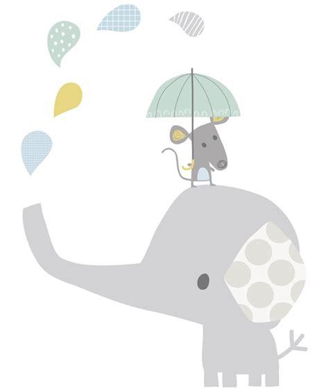 chambre bebe elephant stickers chambre d 39 enfant petit éléphant gris