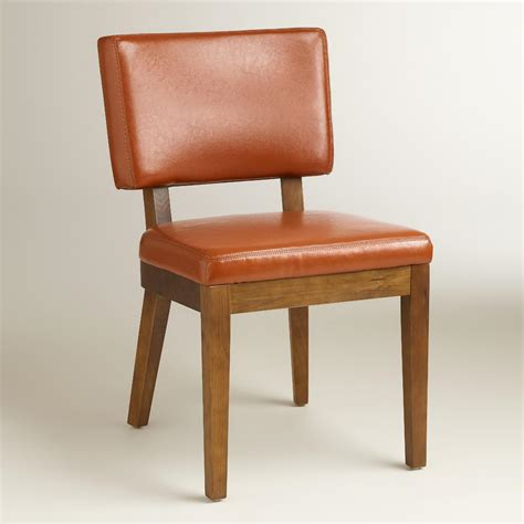 World Market Chairs Leather by Cognac Bonded Leather Chairs Set Of 2 World Market