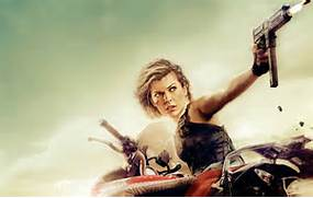 Milla Jovovich gets on her bike for the latest poster for Resident      Milla Jovovich Movies Poster